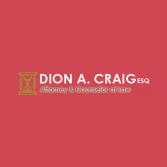 Dion A. Craig, Esq.