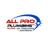 All Pro Plumbing Inc Heating Air Conditioning & Electrical