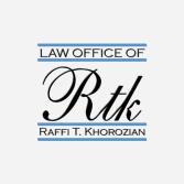 Law Office of Raffi T. Khorozian