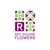 Red Square Flowers
