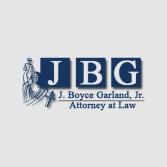 J. Boyce Garland, Jr., Attorney at Law