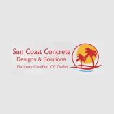 Sun Coast Concrete Designs and Solutions