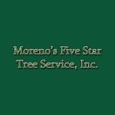 Moreno's Five Star Tree Service