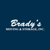 Brady's Moving & Storage, Inc.