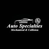 Auto Specialties Mechanical & Collision