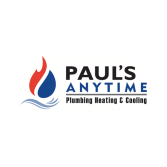 Paul's Anytime Plumbing, Heating & Cooling