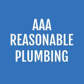 AAA Reasonable Plumbing