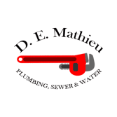 D E Mathieu Plumbing Sewer & Water