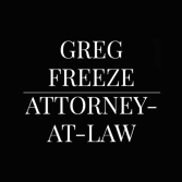 Greg Freeze, Attorney at Law