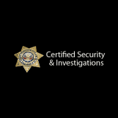 Certified Security & Investigations