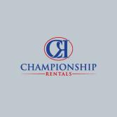 Championship Rentals
