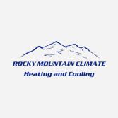 Rocky Mountain Climate