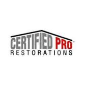 Certified Pro Restorations, Inc.