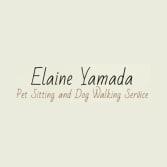 Elaine Yamada Pet Sitting and Dog Walking Service