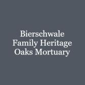Bierschwale Family Heritage Oaks Mortuary