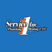 Service 1 Plumbing, Heating & A/C, Inc.