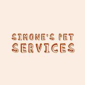 Simone's Pet Services