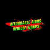 Affordable Signs and Vehicle Wraps
