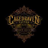 Caged Raven Tattoo