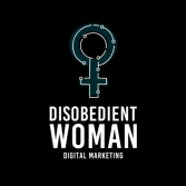 Disobedient Woman Web Design