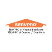 SERVPRO of Virginia Beach and SERVPRO of Oceana / Dam Neck
