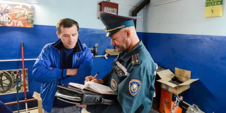 Сдача в эксплуатацию Системы Пожарной Сигнализации инспектору МЧС