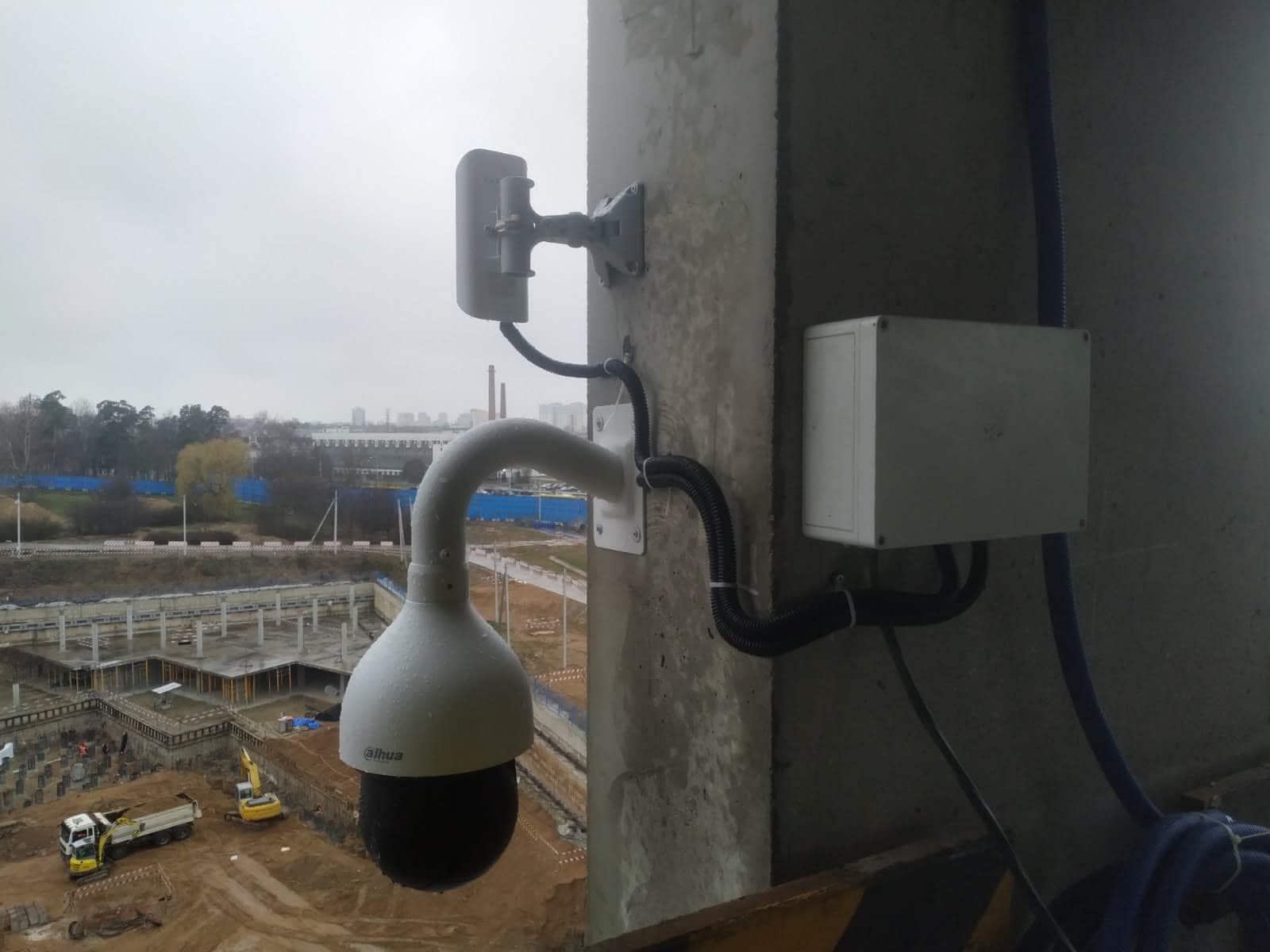 Система видео контроля территоррии