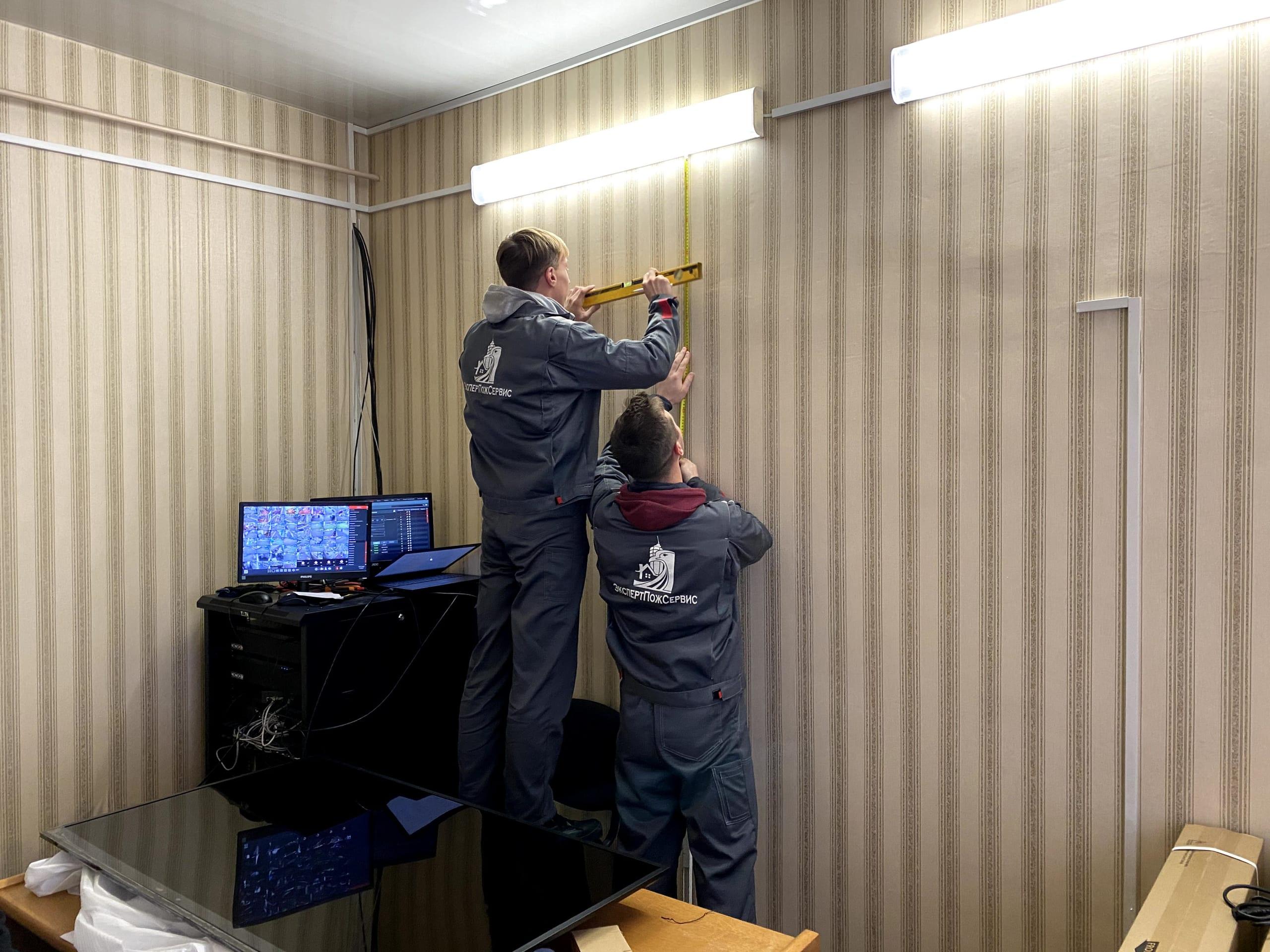 Установка и монтаж системы видеонаблюдения