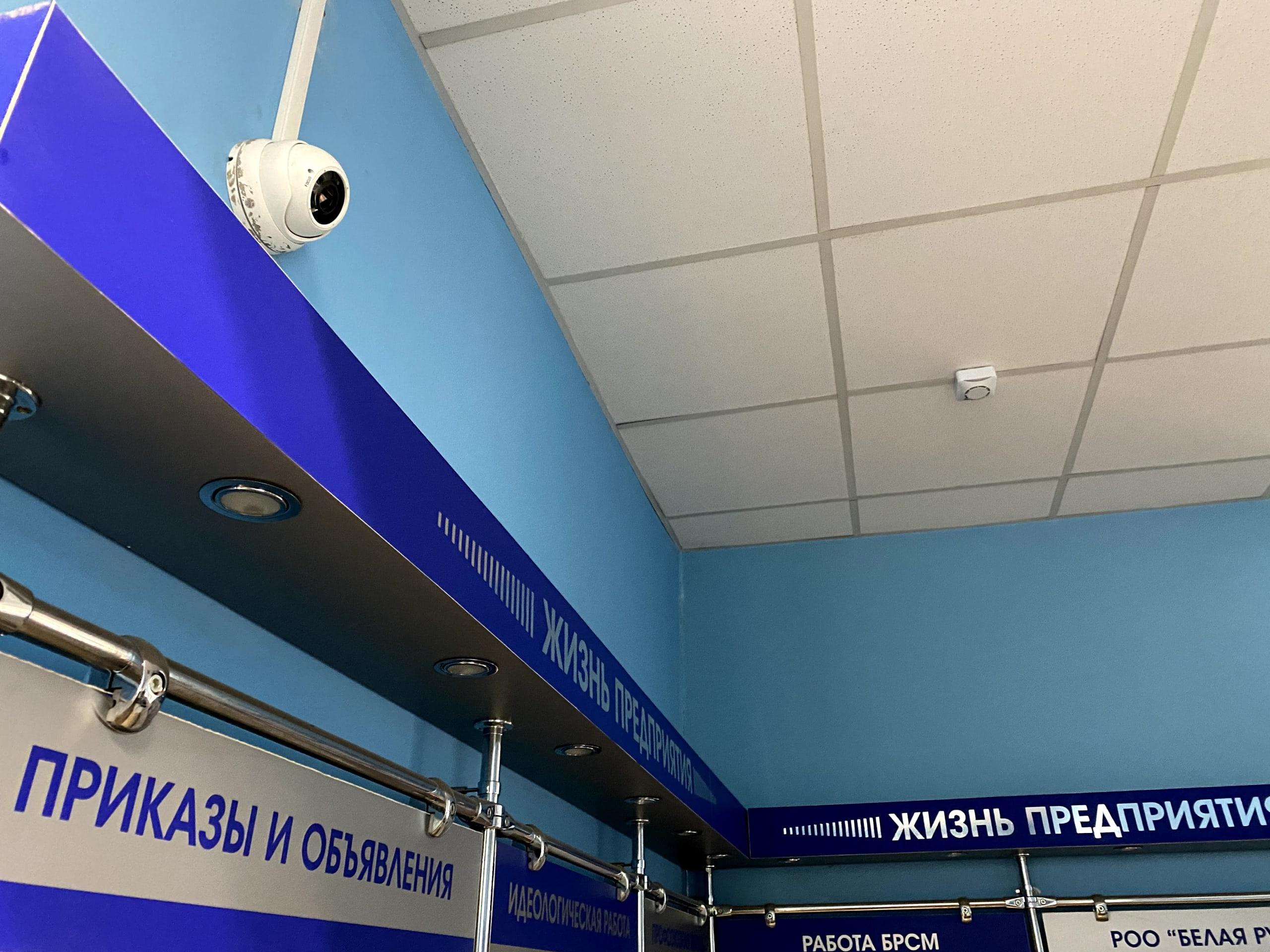 Система видеонаблюдения на территории гос учреждения