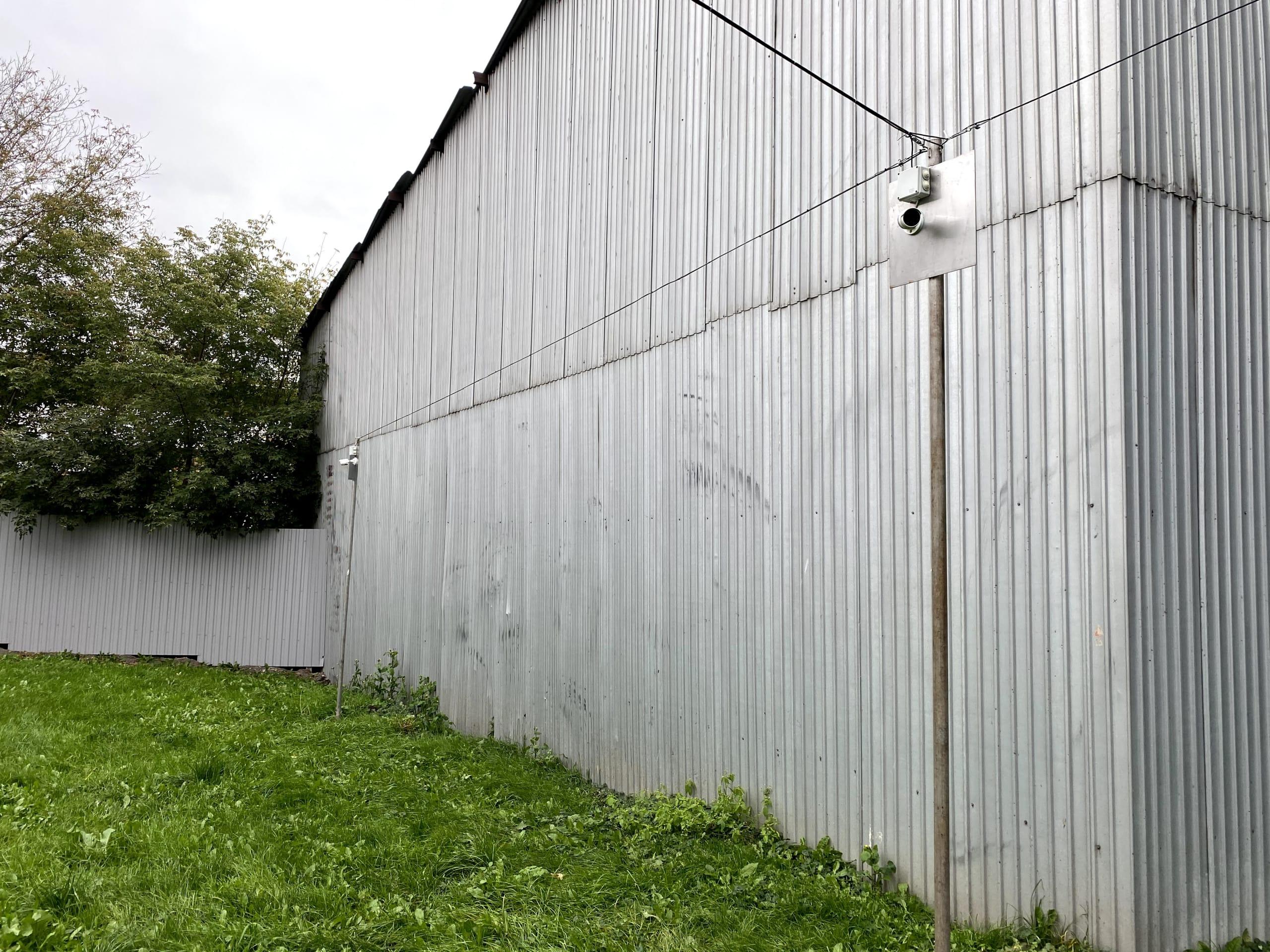 Система наблюдения охраняемой территории