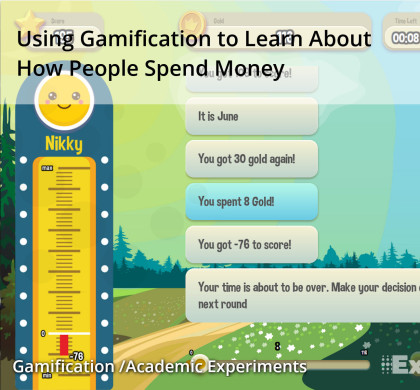Using Gamification to Learn About How People Spend Money