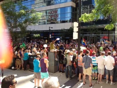 Toronto Pride 2014 - Me at Toronto Pride