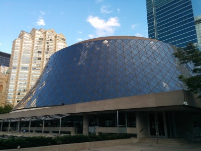 Arrived at Roy Thomson Hall