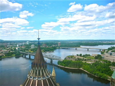 City of Ottawa - The Green and Blue of Our Red and White