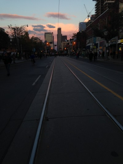 Queen Street, Toronto - I Am A Street Car