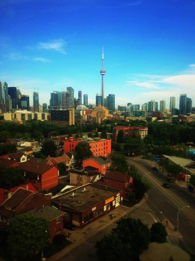 Overlooking Toronto