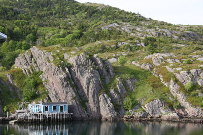 Quidi Vidi Boat House - Before the wreak