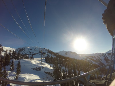 Sun on the Lift