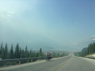 Canadian Rockies - Wildfire