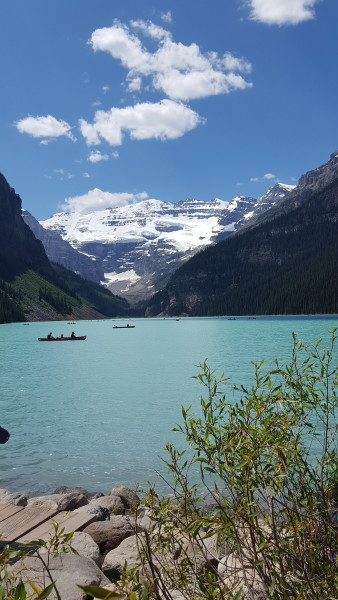 My Trip to Lake Louise