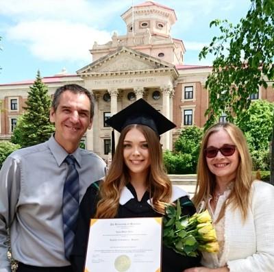 Daughter graduates