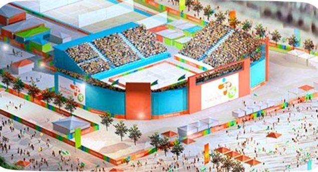 Chevrolet Beach Volleyball Centre