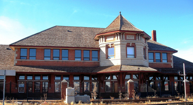 Strathcona Canadian Pacific Railway Station