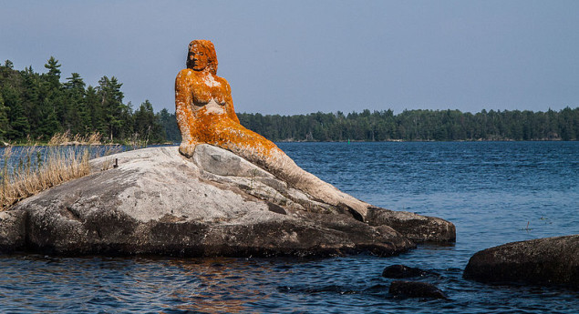 Rainy Lake Mermaid