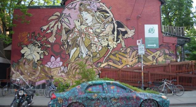 Murale de la centre de santé Head-to-Toe