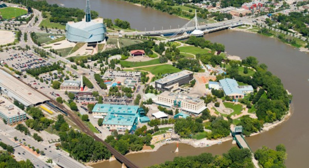 The Forks National Historic Sites