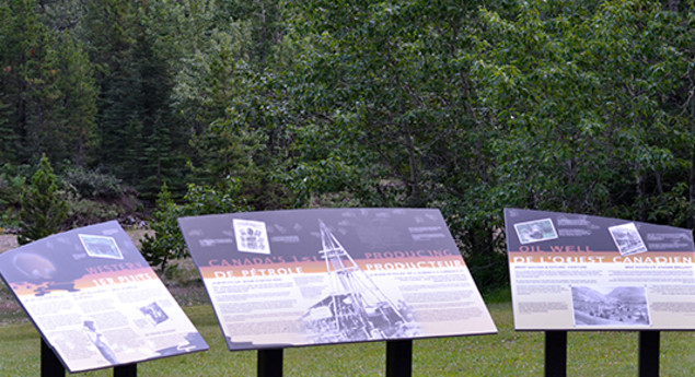 First Oil Well In Western Canada National Historic Sites