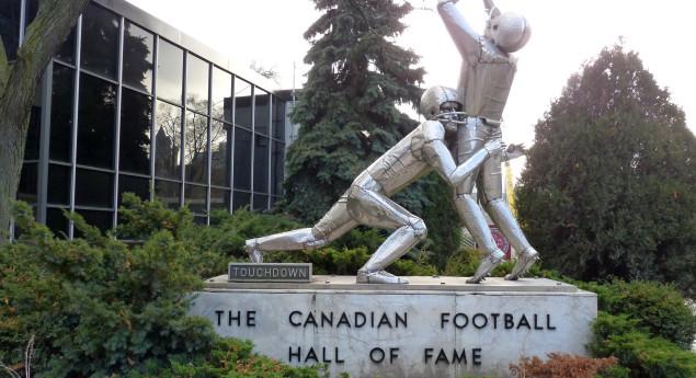 Touchdown Statue