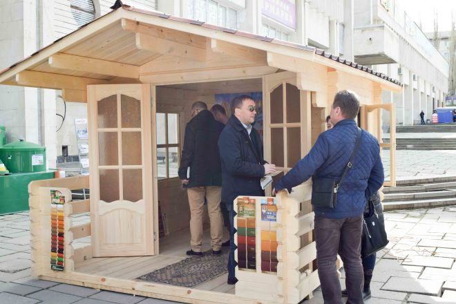 Фото с выставки «Крым. Стройиндустрия. Энергосбережение. Весна – 2016»