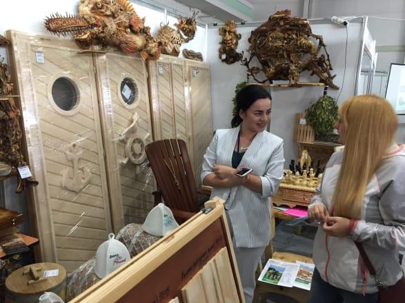 Фото с выставки «Крым. Деревянное строительство – 2021»